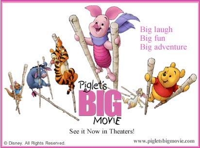 Piglets Big Movie.